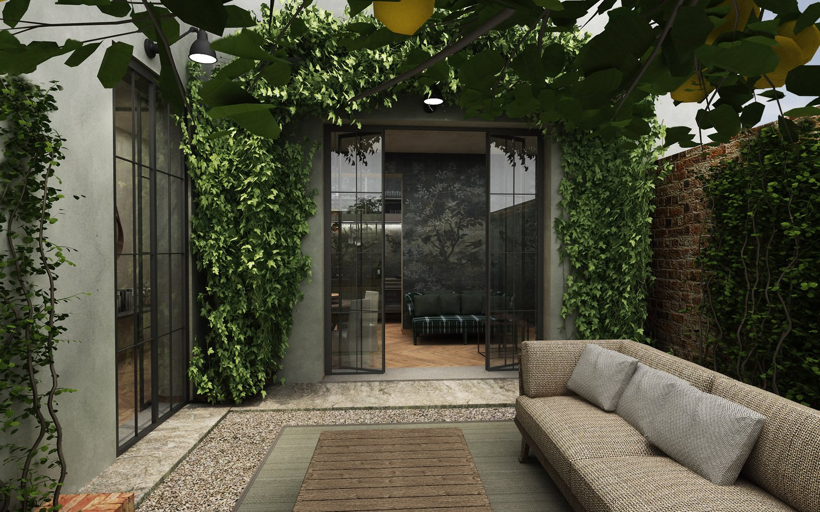 Apartment of the week: Secret Garden